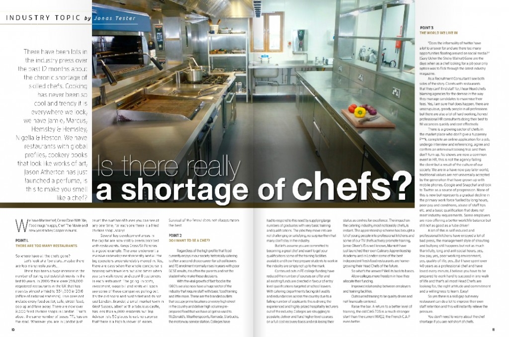 Chef mag Article