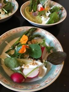 Asparagus, Radish & Buttermilk